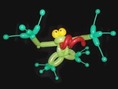 grenouille ballons